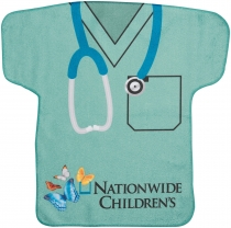 Scrubs Jersey Shaped Rally Towel