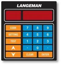 .015 Custom Shape Velvet Frosted Lexan® Nameplates / V23 adh back (1 to 4 sq in) Screen-printed