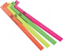 "Plastic Wristband (3/4""x10"")"