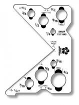 Custom Shaped Plastic Items .060 White Matte Styrene, 4 Sq/In, Spot Colours