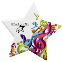 Star Shaped Mint Card