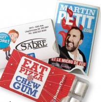 Sugar-Free Peppermint Gum Pack (Custom)