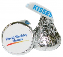 Hershey's Chocolate Kisses with Label