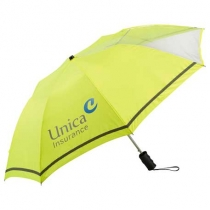 """42"""" Clear View Auto Open Safety Umbrella"""