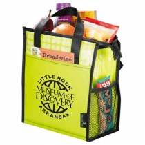 Laminated Non-Woven 6 Can Lunch Cooler