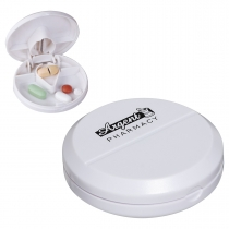 Pill Pal Pill Box w/ Cutter