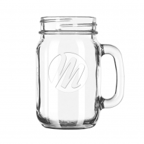 The Vessel ETCHED Drinking Jar