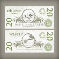 $20 Seed Paper Bills
