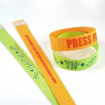 Seed Paper Wristband Long, 2-Sided