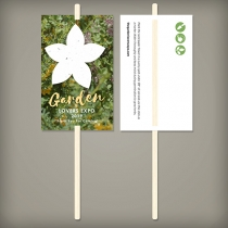 Wildflower Planting Sticks, 2-Sided