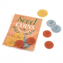 In Planting We Trust Seed Paper Coin Pack