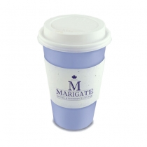 Seed Paper Coffee Cup Sleeve, 1-Sided
