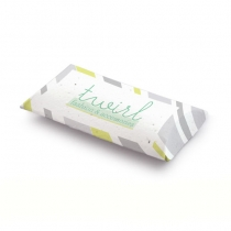 Seed Paper Pillow Box, 1-Sided