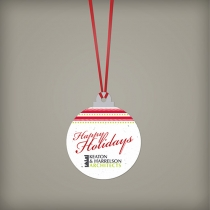 Christmas Ball Ornament, 1-Sided