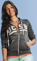 Women's MV® Sport Angel Hooded Full Zip Sweater