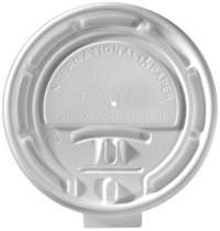 Tear Tab Lids for Paper Cups (10, 12, 16 & 20 Oz.)