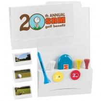 "4-2-1 Golf Tee Value Packet w/ 2 1/8"" Tees"