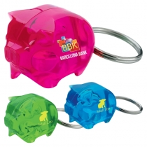 GoodValue® Stylish Piggy Bank Keychain