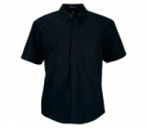 Coal Harbour® Adult Short Sleeve Easy Care Woven Shirt w/ Pocket