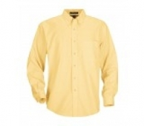 Coal Harbour® Adult Long Sleeve Easy Care Woven Shirt w/ Pocket