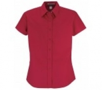 Coal Harbour® Ladies Short Sleeve Easy Care Woven Shirt