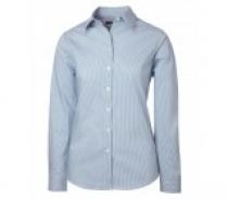 Coal Harbour® Ladies Mini Stripe Woven Shirt