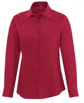 Coal Harbour® Ladies Long Sleeve Everyday Woven Shirt