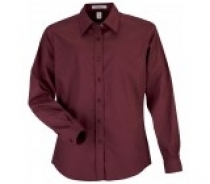 Coal Harbour® Ladies Long Sleeve Easy Care Woven Shirt