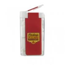Large Rectangular Flip Top Gum Dispenser - CLEARANCE