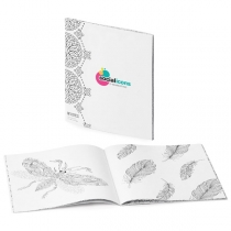 Coloring Book Anti-Stress Soft Cover Journal